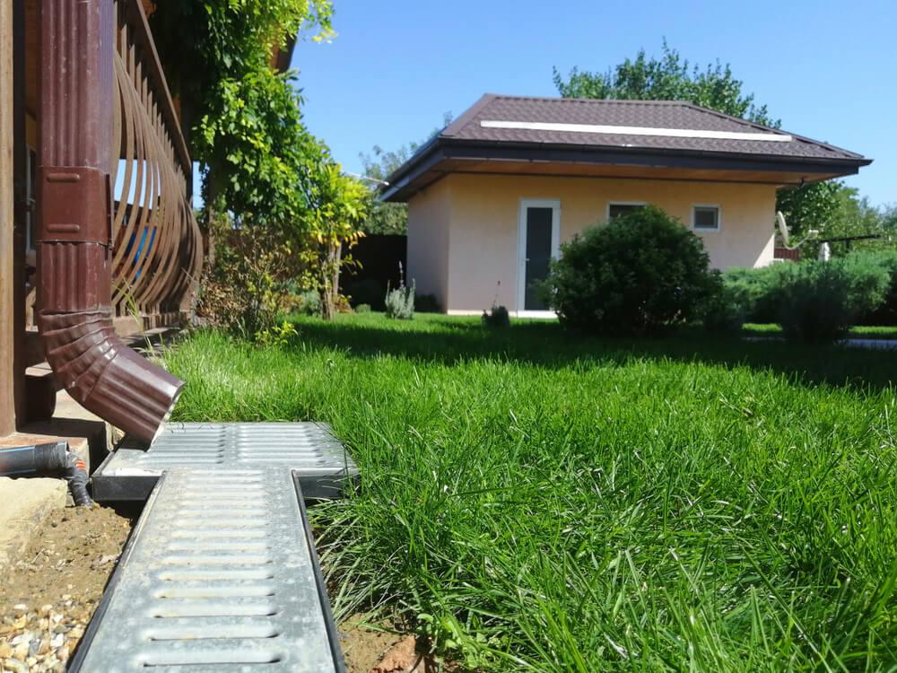 Odvod dažďovej vody od domu Bratislava Zemné-Výškové